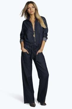 Boutique Lucy Zip Through Jumpsuit