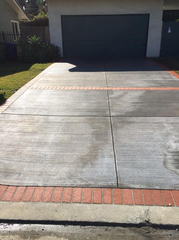 And We Re Done Driveway Project Before After C Our Expert Technicians Can Complete Concrete Drivewa Driveway Repair Sidewalk House Exterior