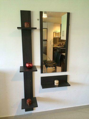 Mueble Consola Recibidor Con Espejo !!envío Gratis Ccs!! - Bs. 18.700,00