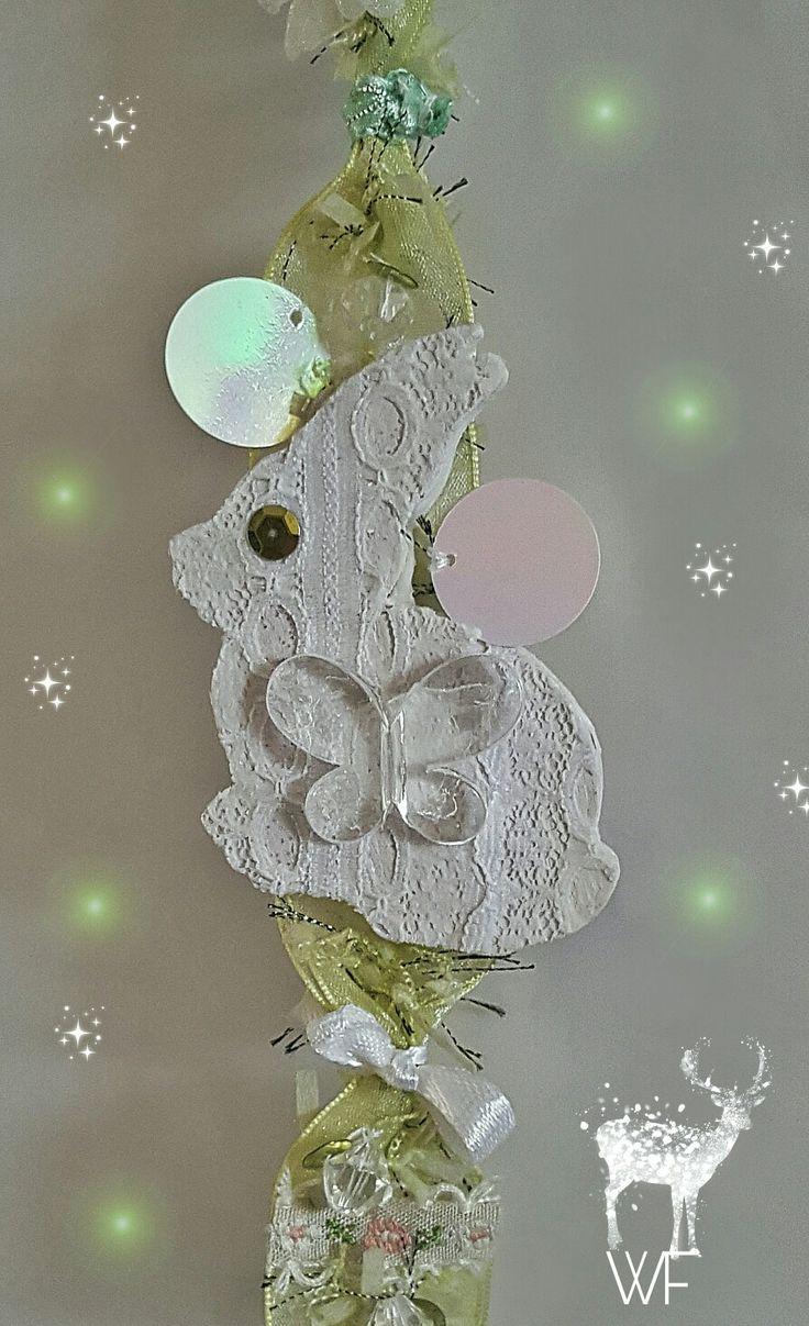 Home decor Hand made hanging decoration https://www.facebook.com/whitefeatherdesignshomedecor/