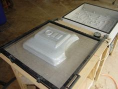 Build your own vacuum forming machine to make Storm Trooper Armor and other shaped plastic components.