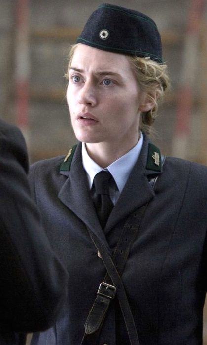 Kate Winslet as Hanna Schmitz, The Reader (2008), directed by Stephen Daldry