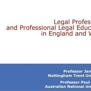 Professor Jane Ching Nottingham Trent University Professor Paul Maharg Australian National University Legal Professions and Professional Legal Education in. http://slidehot.com/resources/regulation-slides.62112/