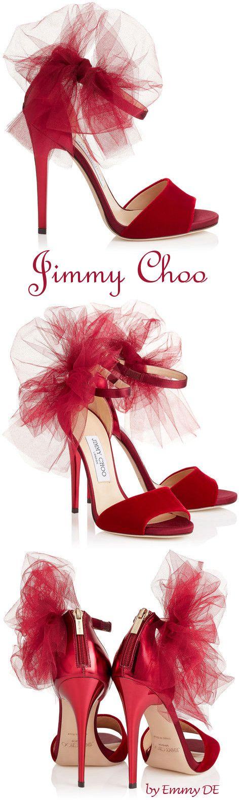 Zapatos Jimmy Choo Rojos