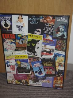 Doing Crafts with My Crap and Beyond...: What to do with old playbills?