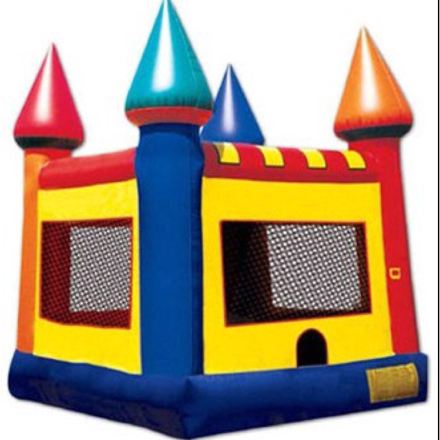 Dream bouncy castle 3d image is courtesy of ninja jump for King s fish house happy hour