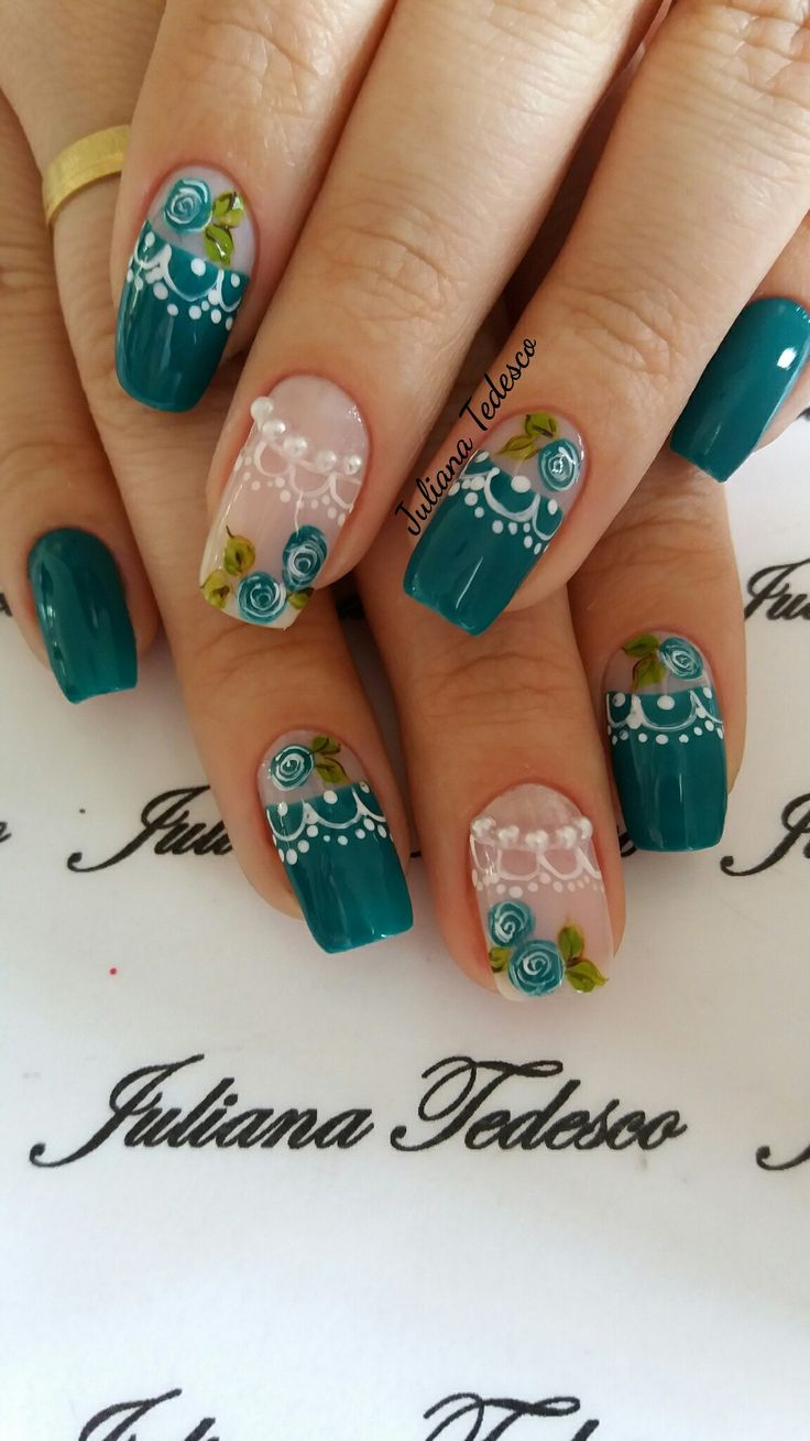 293 best uñas images on Pinterest | Nail design, French nails and ...