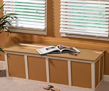 How To Build A Window Seat   Adding Extra Storage Space   Built Ins,