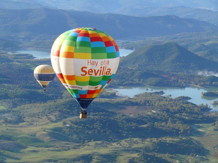 Escápate con Gloobo en #Sevilla y disfruta de un paseo en globo en #Tomares para una persona ! #Wonderbox #Wonderplan #Wonderaventura #Wonderexperiencia #Globo #100%Aventura