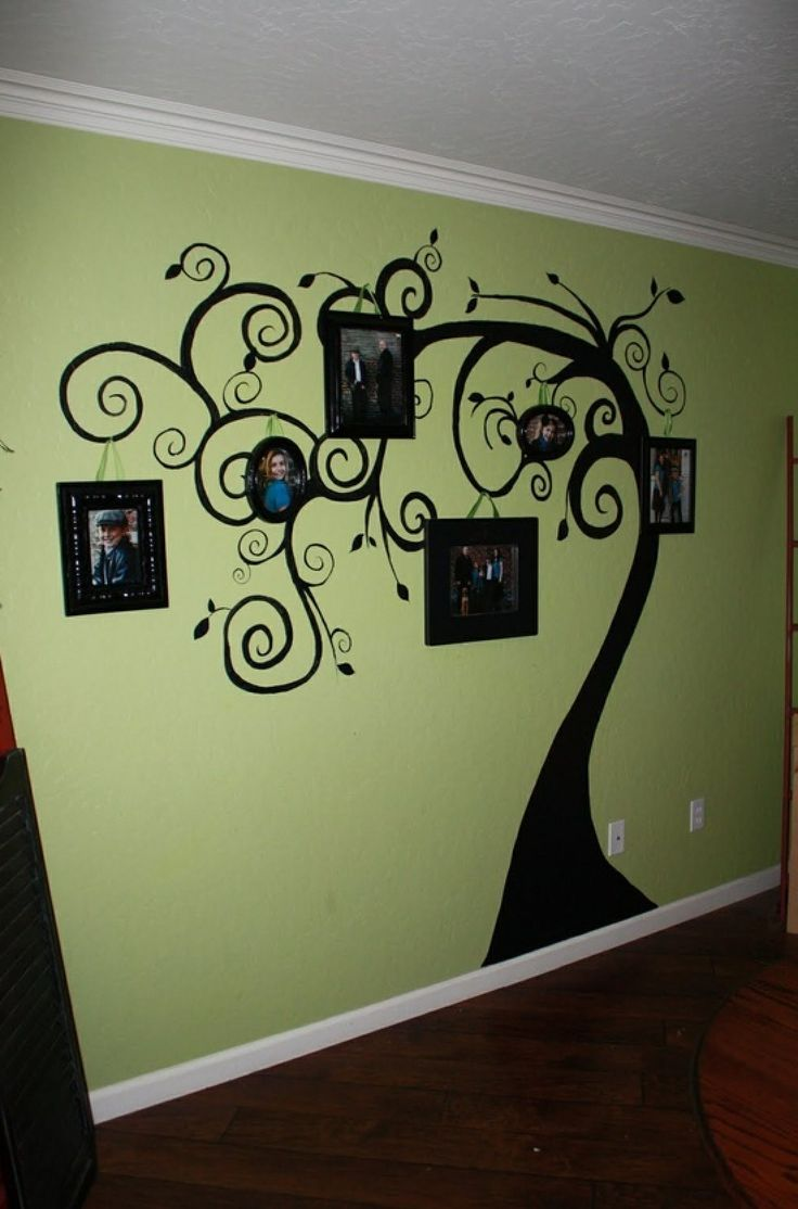 9 best living room wall decals images on pinterest wall stickers family tree wall art love this idea