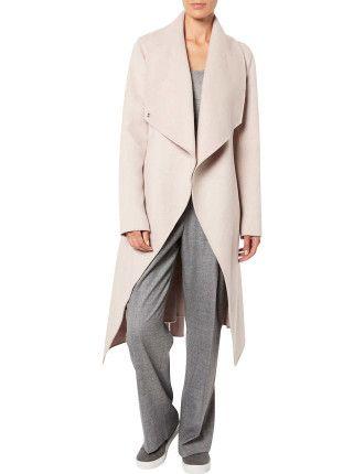 Witchery Wrap Blanket Coat #davidjones #djsfashion #style #autumn #winter #fashion #witchery