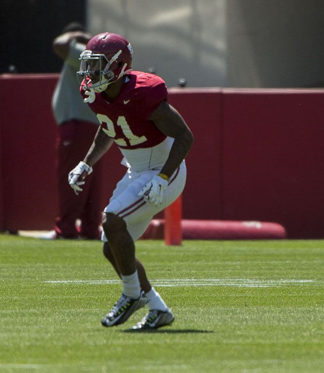 Alabama players 'happy' for ex-teammate Maurice Smith