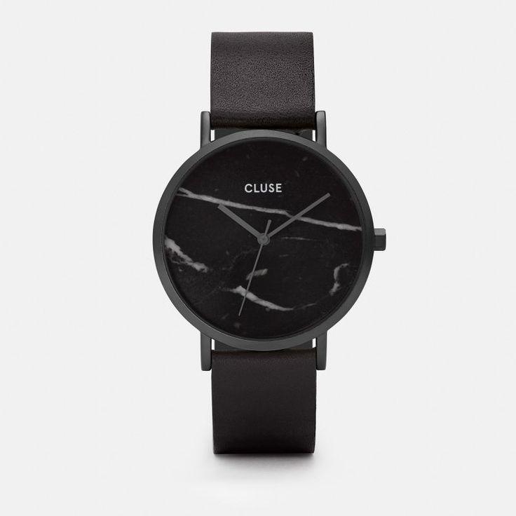 CLUSE La Roche Full Black Marble CL40001
