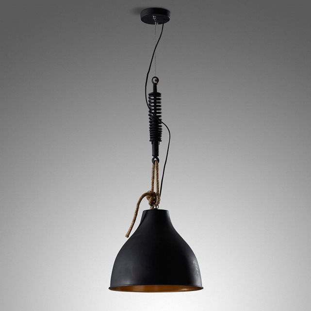 Lampe Suspension Sadie, Noir