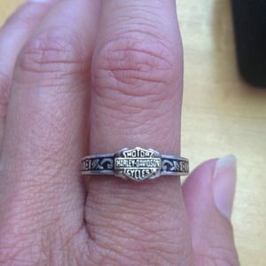 I just added this to my closet on Poshmark: Vintage Harley Davidson Sterling Silver Ring. Price: $20 Size: 6