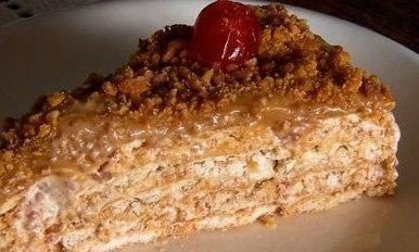 Receita de Torta Paulista (torta de amendoim). Enviada por Luiza e demora apenas 35 minutos.