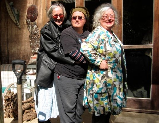 Here I am with my boots on (left) in Matthew Hammett Knott's Heroines of Cinema series, with my practitioner mates, writer Cushla Parekowhai  and activist Allie Eagle. http://www.indiewire.com/article/heroines-of-cinema-why-dont-more-women-make-movies-marian-evans-on-bridging-the-gap-between-theory-and-practice?page=1#articleHeaderPanel