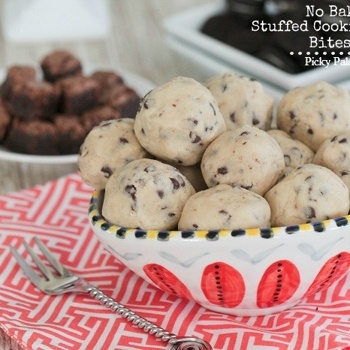 No-Bake Stuffed Cookie Dough Bites | Sweets | Pinterest