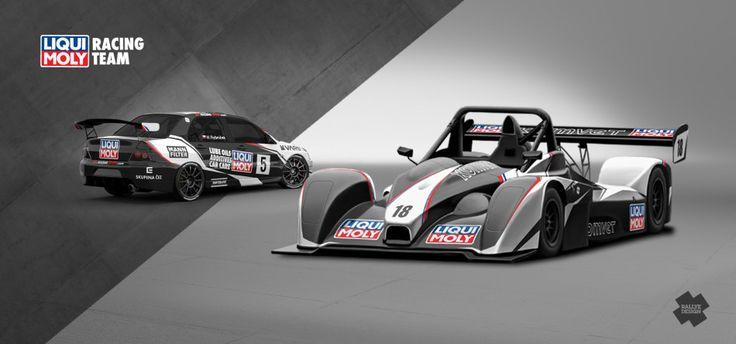 Liqui Moly Racing Team - Marek Rybníček (Mitsubishi Lancer Evo IX, Norma) - design and wrap for season 2014.