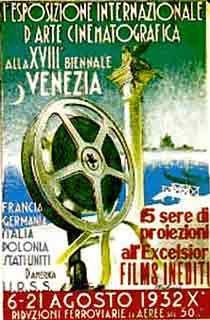 Manifesto Mostra del Cinema 1932