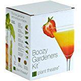 Plant Theatre Boozy Gardeners Kit - 6 Varieties to Grow -Great Gift Idea