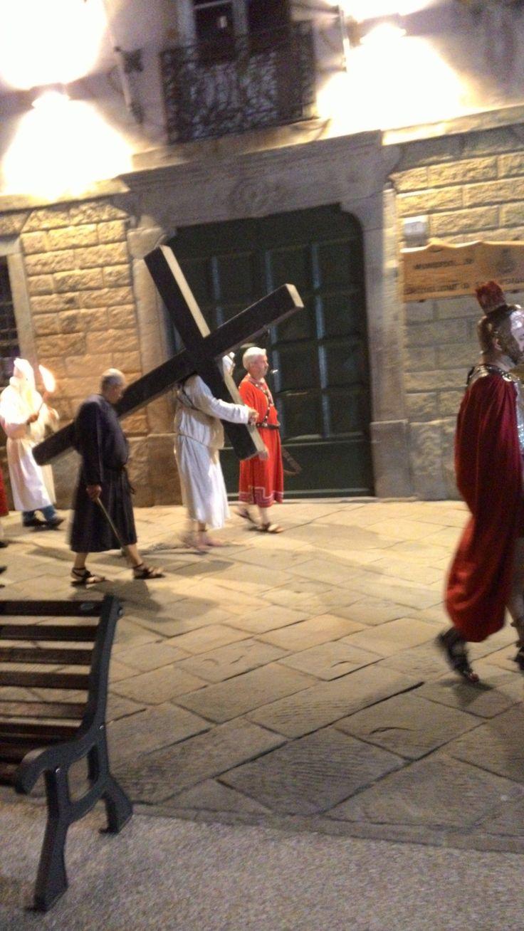 """Castiglione Garfagnana . Toscana . Processione de """" I Crocioni """""""