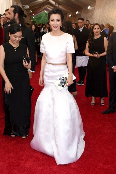 Bingbing Li at the 2015 Met Gala.