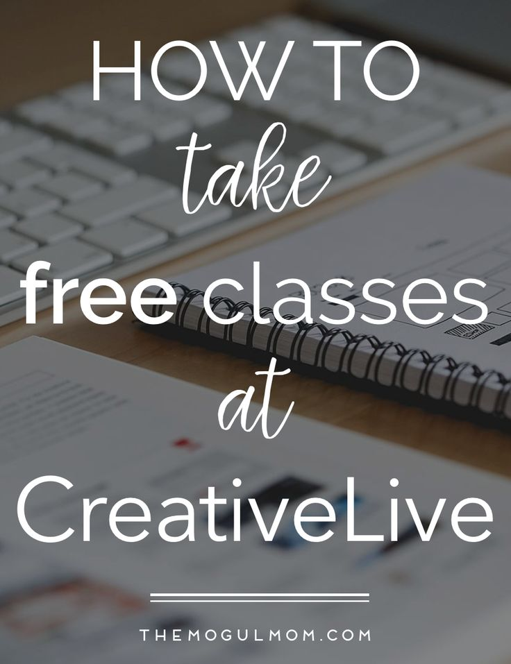 If you're looking to sharpen your professional skills, check out the list of FREE courses from CreativeLive available this week.  BOOKMARK THIS! Classes change and are updated weekly.