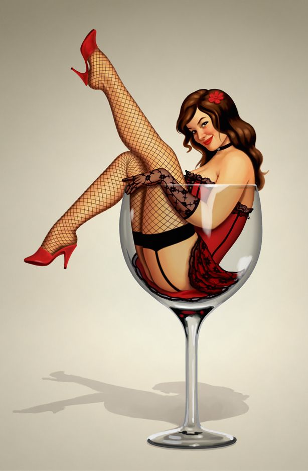Pin up lust