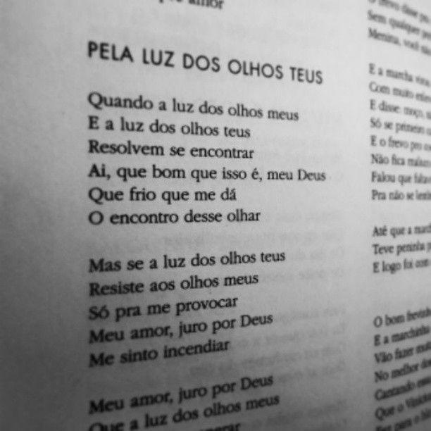 Pela Luz Dos Olhos Teus - Vinicius de Moraes