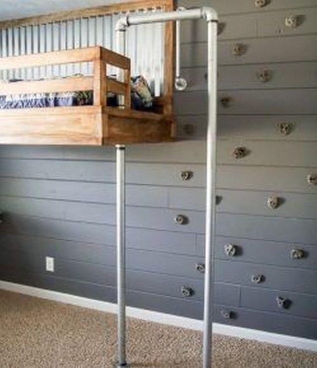 24 IndoorKletterwand für ein Schlafzimmer im Freien