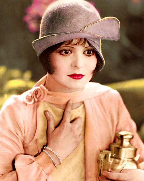 Clara Bow in Dancing Mothers (1926). My grandmother's favorite actress. They both had natural deep red hair.                                                                                                                                                                                 More