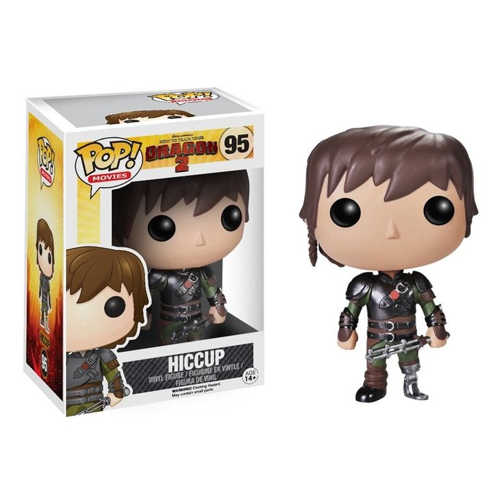 Movies Pop! Vinyl Figure Hiccup [How To Train Your Dragon 2] - Funko Pop! Vinyl