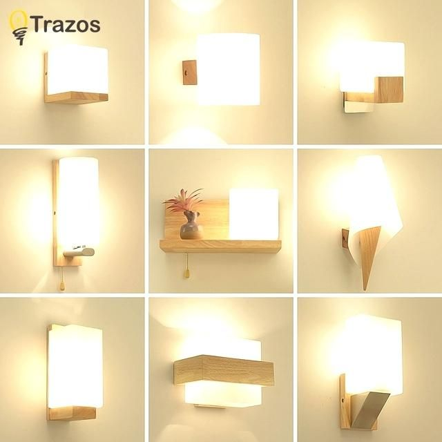 Modern Wall Sconce Lighting Wood