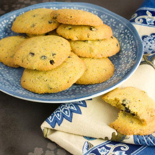 Lemon & Blueberry Polenta Cookies | Cookies | Pinterest