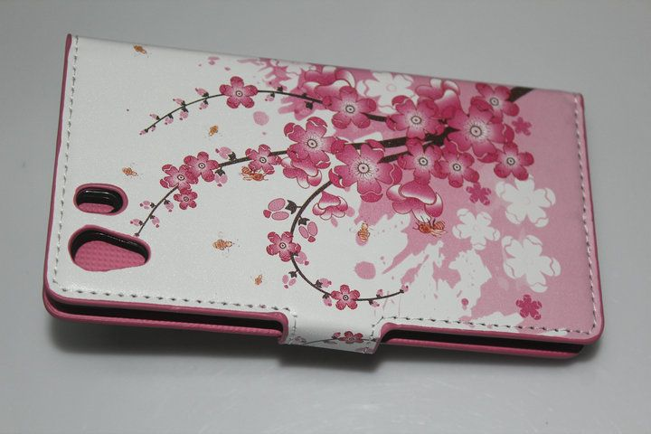 [SXZ-097-2]Leather Case for Sony Xperia Z