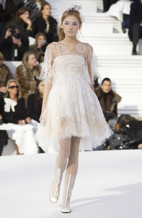 90 best chanel images on pinterest chanel couture high for Coco chanel wedding dress