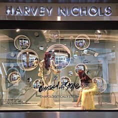 """HARVEY NICHOLS, Mall of the Emirates, Dubai, United Arab Emirates, """"Obsessed with Style"""", photo by Rhian Goudie, pinned by Ton van der Veer"""