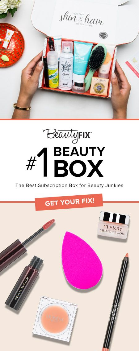 12 best beauty box believer images on pinterest beauty box make limited time offer save 10 on mays beautyfix with code beautyfix10 fandeluxe Gallery