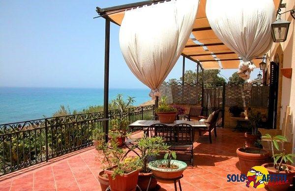 A beautiful terrace in Menfi, Italy.