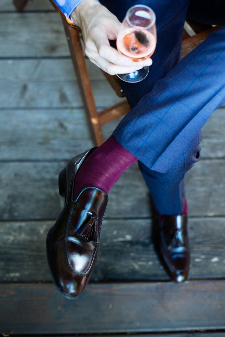 Tassel loafers and rose #morethanasuit @artizanimage