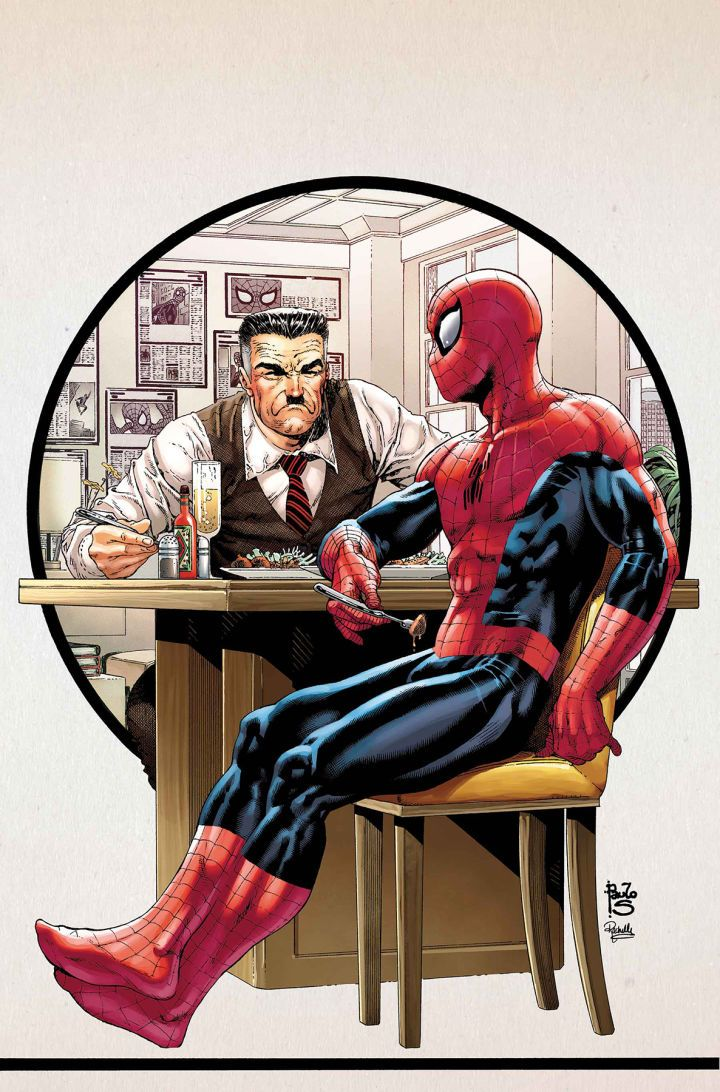 Did Spider-Man Just Make a Huge Mistake?  Peter Parker just did the last thing you'd expect in his latest showdown with his old nemesis J. Jonah Jameson.  Warning: this article contains spoilers for Peter Parker: The Spectacular Spider-Man #6!  This issue featured the two perennial enemies breaking bread together in Jameson's apartment. In exchange for Jameson's help in uncovering more information about his sister Teresa Spidey agreed to participate in an hour-long no-holds-barred interview…