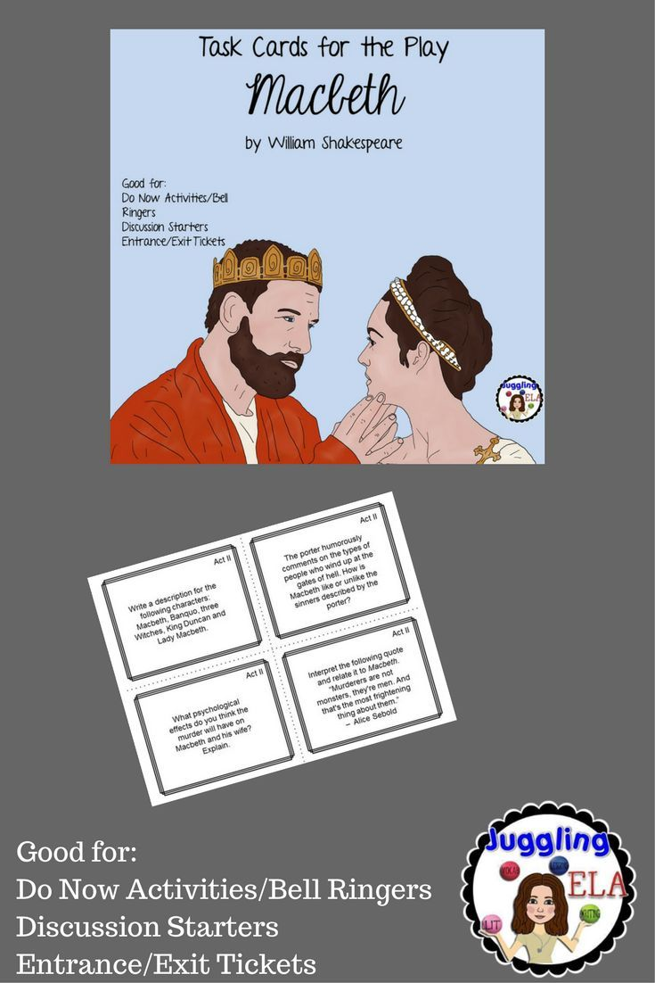 the consequences of choices in the tragedy of macbeth by william shakespeare Macbeth - fate or choice in the tragedy macbeth, william shakespeare develops the idea consequences of his choice shakespeare uses.