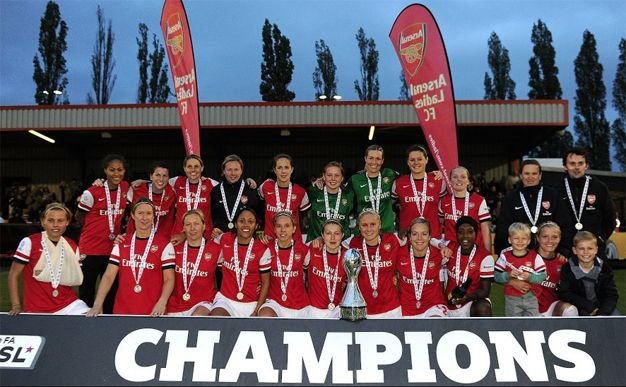 Arsenal Ladies boss Laura Harvey revealed her delight at sealing her side's second FA WSL title in front of a home crowd after the Gunners edged a five-goal thriller against plucky Doncaster Rovers Belles.