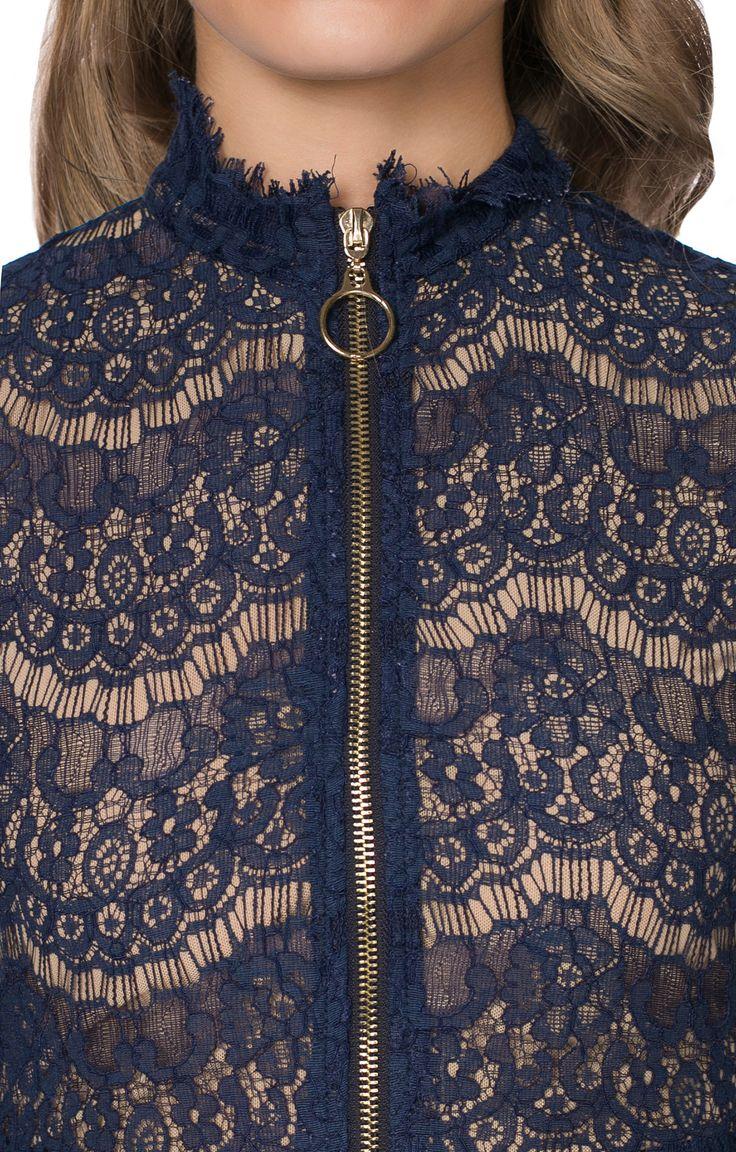 Мини-платье с кружевным верхом How and what 161563, купить за 6279 руб в интернет-магазине TopTop.ru