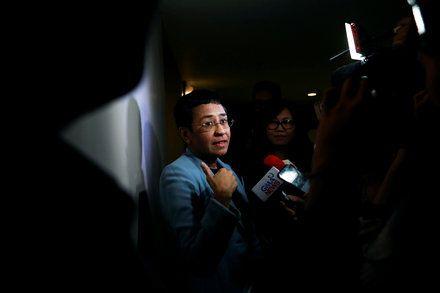 Maria Ressa Philippine Journalist Critical of Rodrigo Duterte Is Arrested Her de…