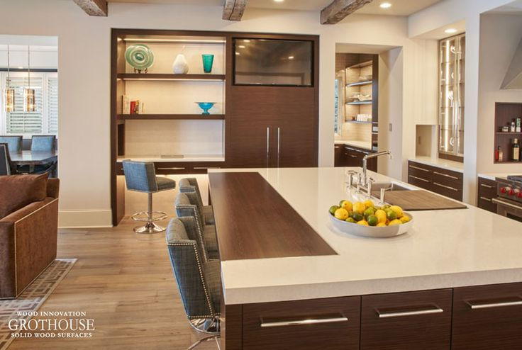 Best Custom Wenge Countertop For Seating Area 400 x 300