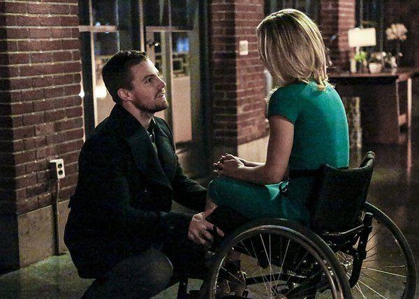 Oliver & Felicity #Olicity #Arrow 4x13 promo pics