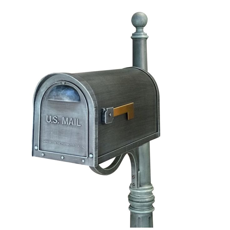 Special Lite Classic Curbside Post Mount Residential Mailbox