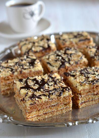 To tanie i wydajne ciasto spotkać można pod wieloma nazwami: grysikowiec, miodownik, ciasto czeskie, rudzielec, makulatura... Poszczególne p...